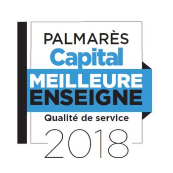 CAPITAL Meilleure enseigne 2018