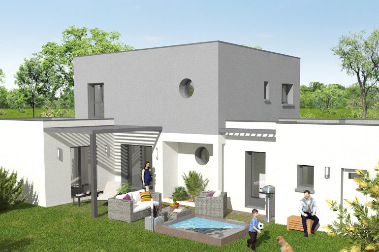 Maison contemporaine T5 - 115 m²