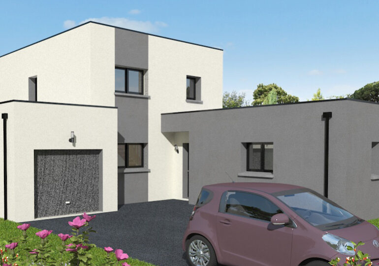 Maison contemporaine T5 115m²