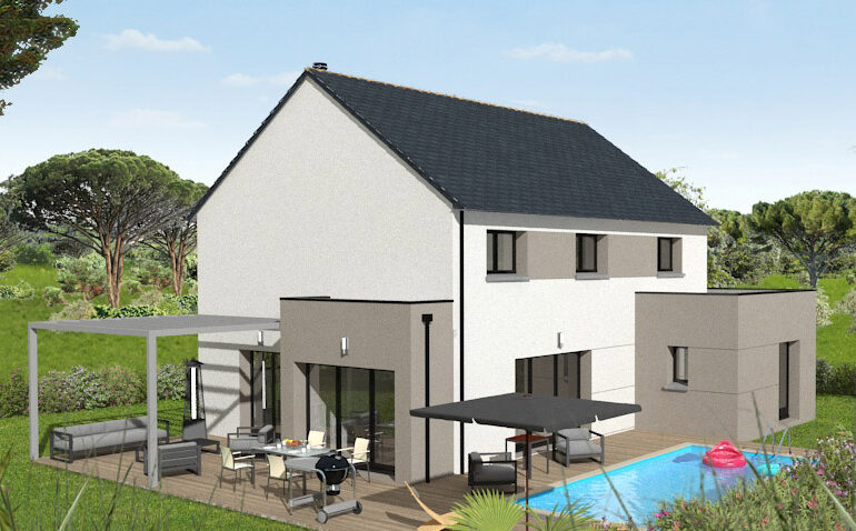 Maison moderne T5 156m²