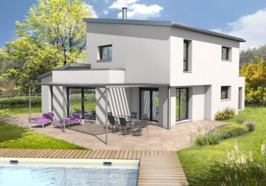 Maison contemporaine T5 131m²