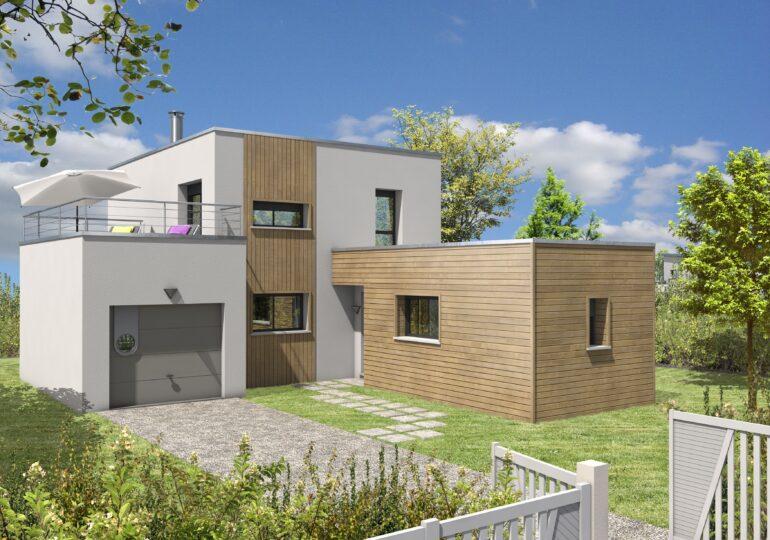Maison contemporaine T5 115m²