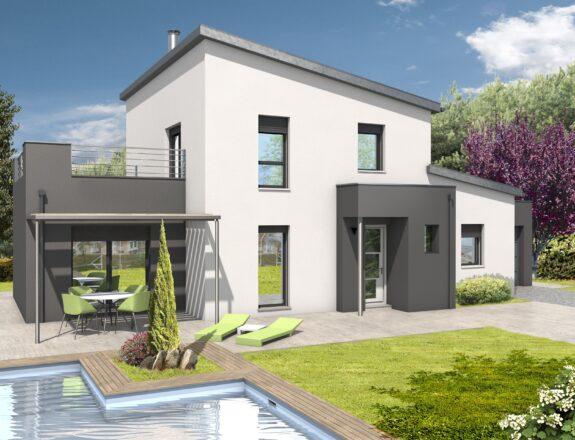 Maison contemporaine T4 140m²