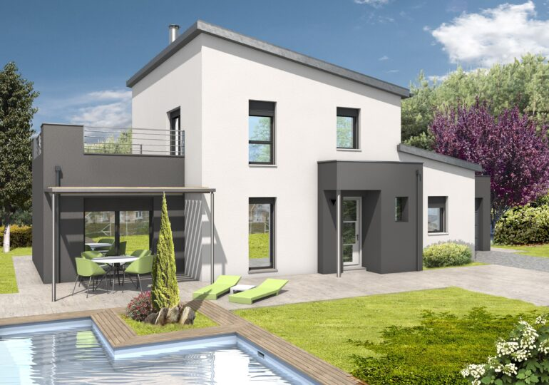 Maison contemporaine T4 140m²