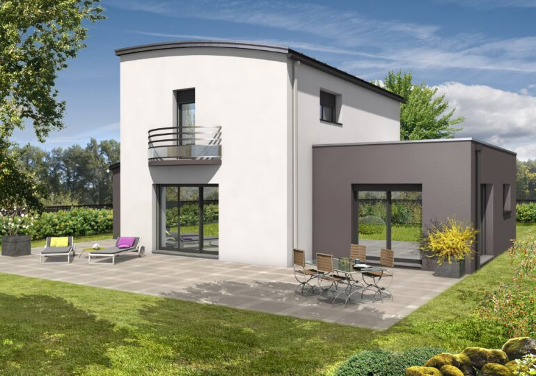 Maison contemporaine T5 152m²