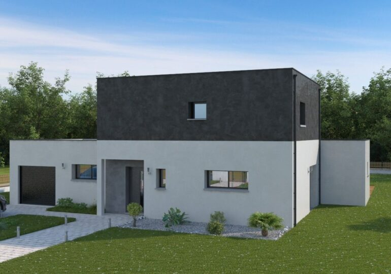 Maison contemporaine T5 118m²