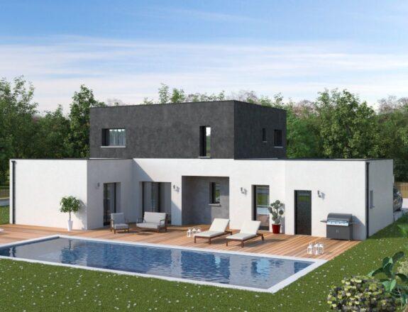 Maison contemporaine T5 118m²