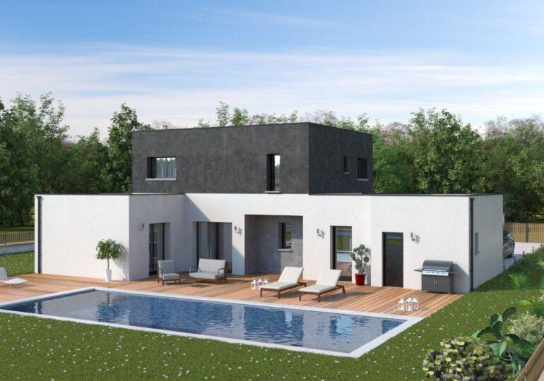 Découvrez la Maison contemporaine T5 118m2 personnalisable ...