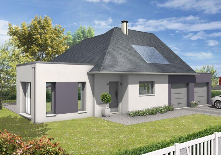 Maison plain pied T4 100m²