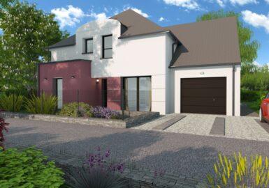 Maison moderne T5 107m²