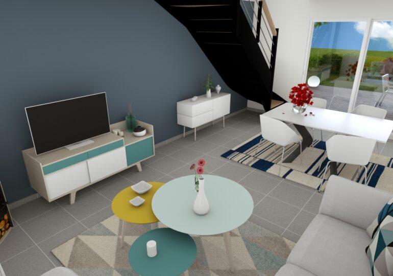 Maison moderne T4 93m2