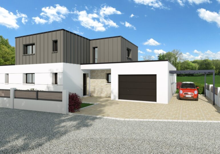 Maison contemporaine T5 157m²