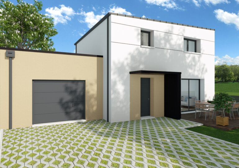 maison contemporaine T4 85m2