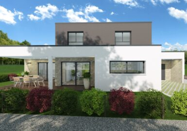 Maison contemporaine T5 134m2