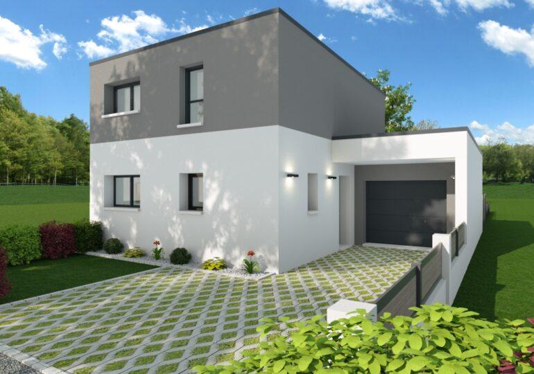Maison contemporaine T5 100m2