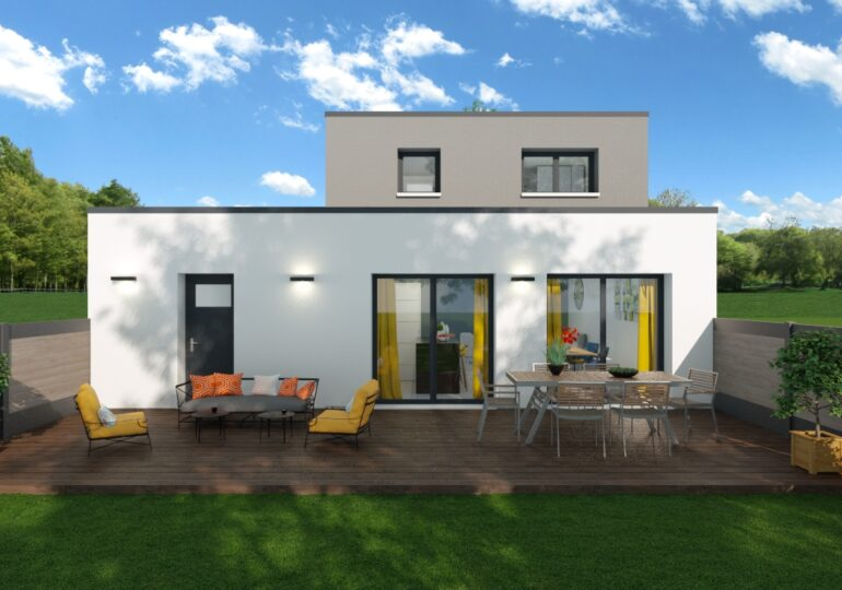 Maison contemporaine T5 100m2