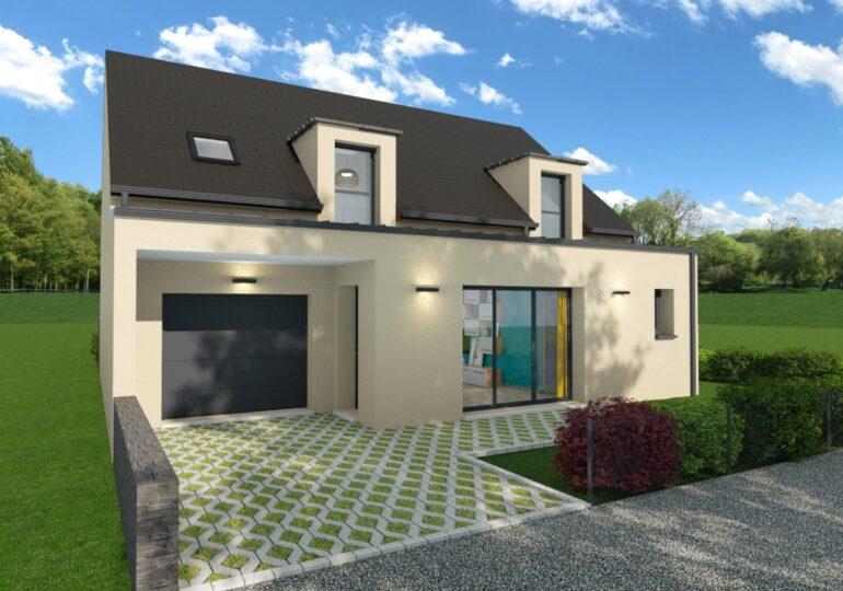 Maison moderne T5 114m2