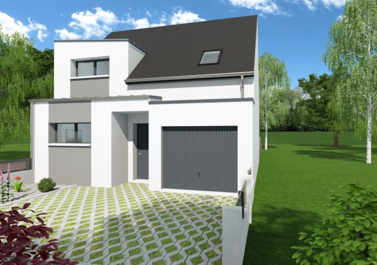 Maison moderne T5 88m2