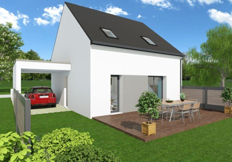 Maison moderne T4 87m2