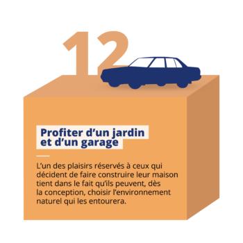 jardin et garage