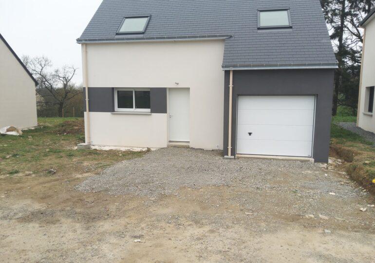 Maison moderne au Sel de Bretagne