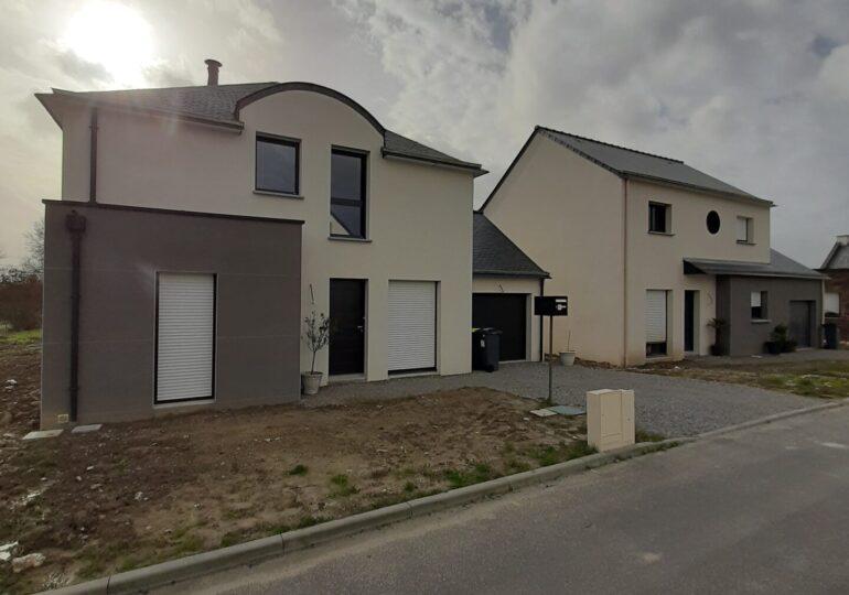 Maison moderne 4 Pans à Vezin-le-coquet T5 107m2