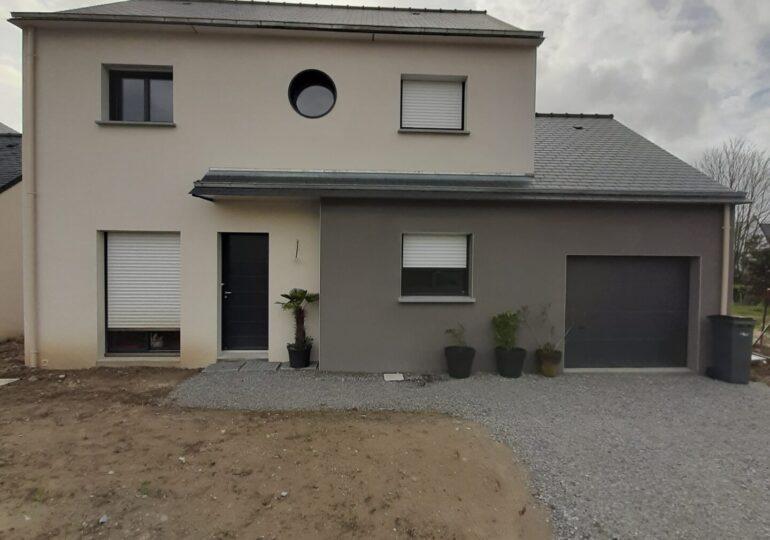Maison moderne à Vezin-le-coquet