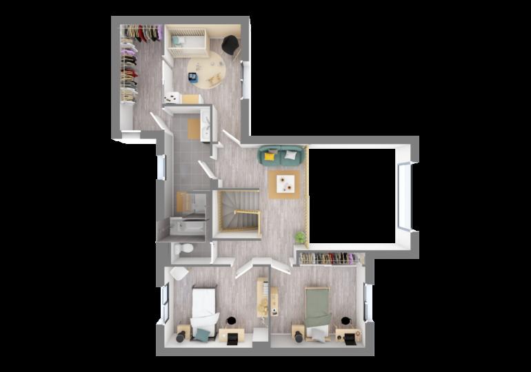 maison contemporaine T5 150m2