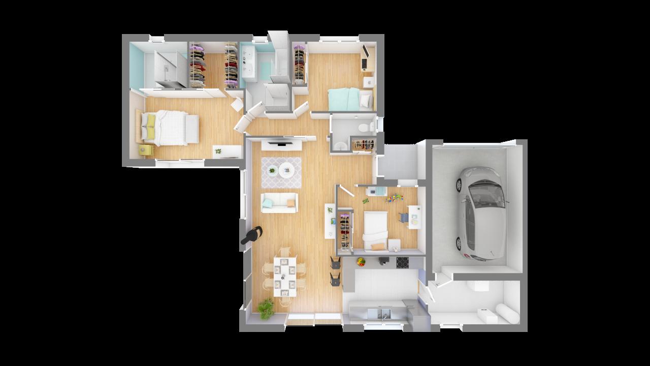 modèles et plans de maison