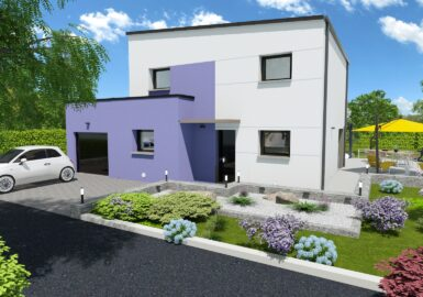 maison contemporaine T5116m2