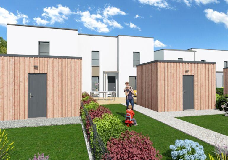 Maisons à prix régulé à St Erblon
