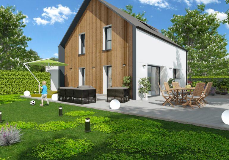 Maison à haute performance énergétique