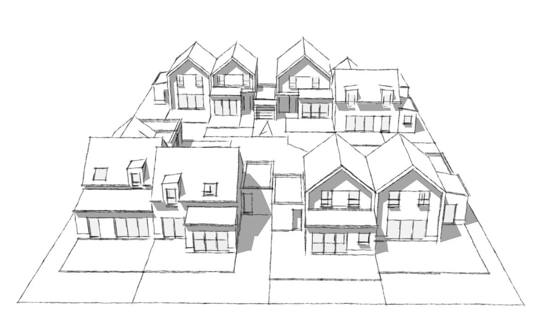 Projet de maison à construire à Hédé